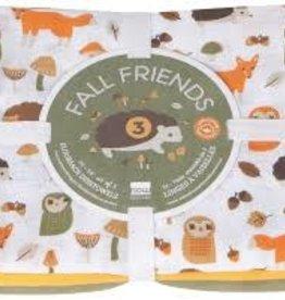Fall Friends Flour Sack Tea Towels