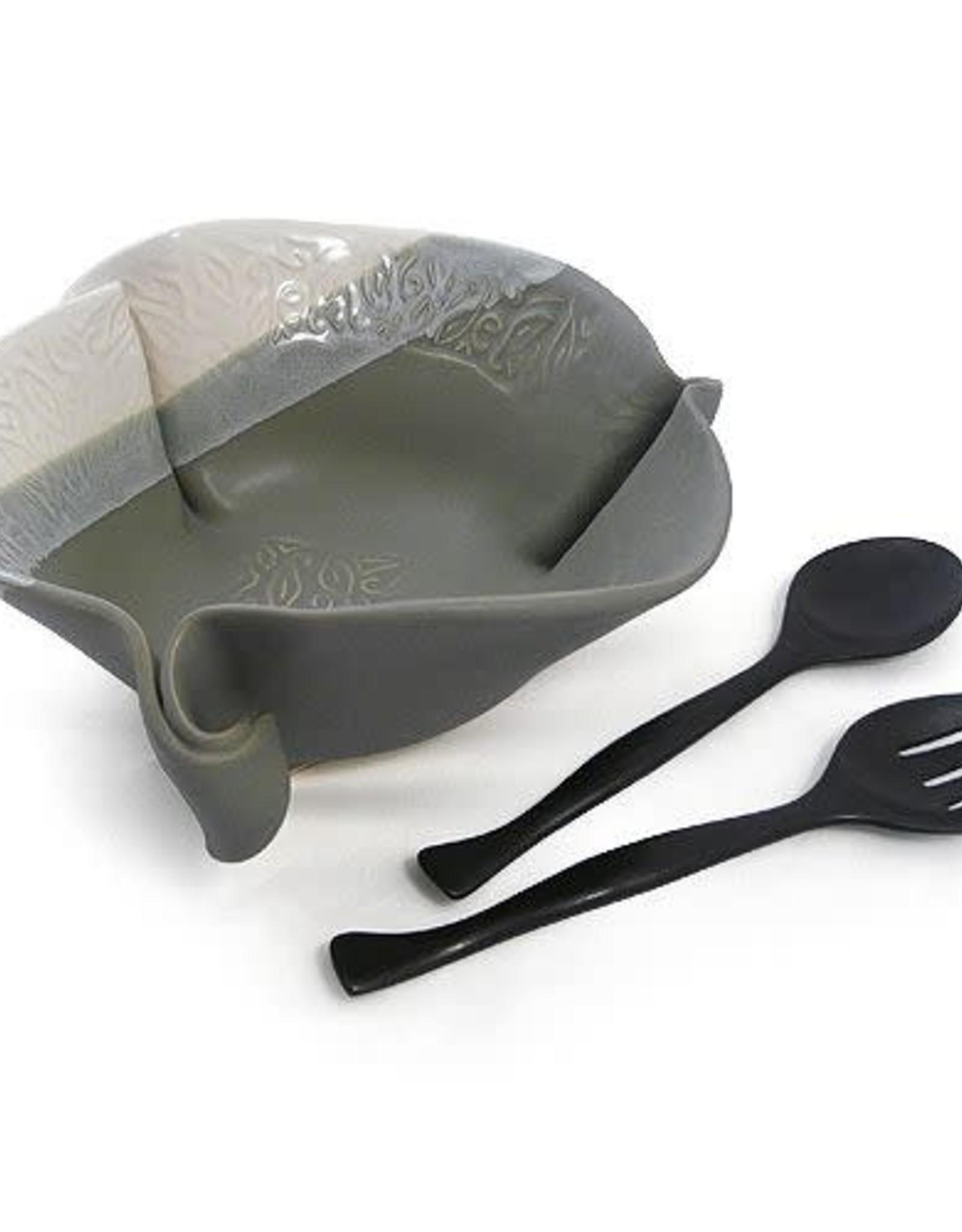 Hilborn Pottery Large Salad Bowl Pottery
