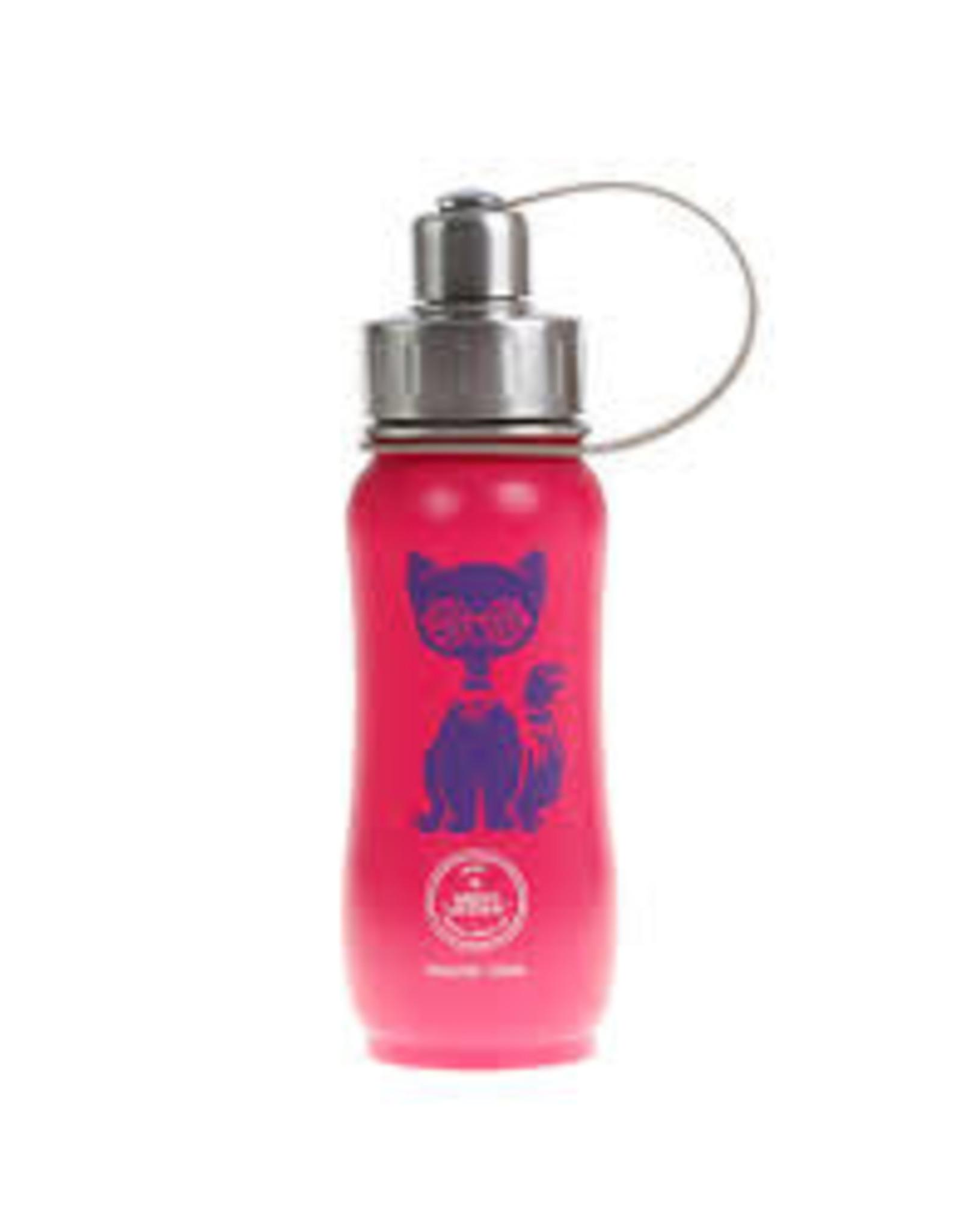 Tripple Insulated Water Bottle 350ml - Cat