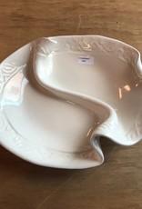 Hilborn Pottery Condiment Dish Pottery White