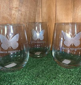 Bruce Peninsula Stemless Wine Glasses