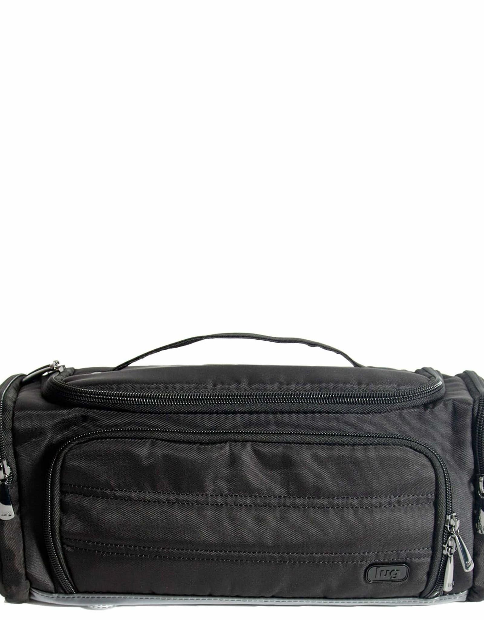 Lug Trolley Cosmetic Case Black