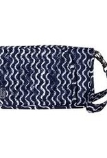 Lug Tandem Zip Travel Wallet - Navy