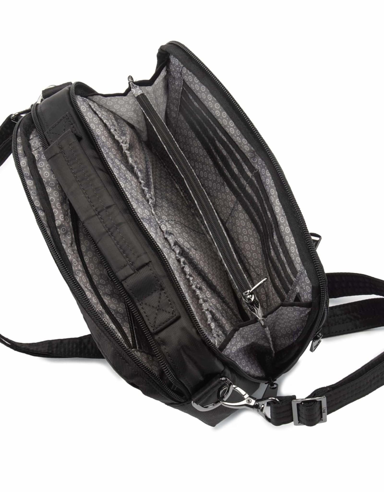 Lug Scoop Purse - Black