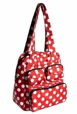 Lug Puddle Jumper Packable - Red - Dots