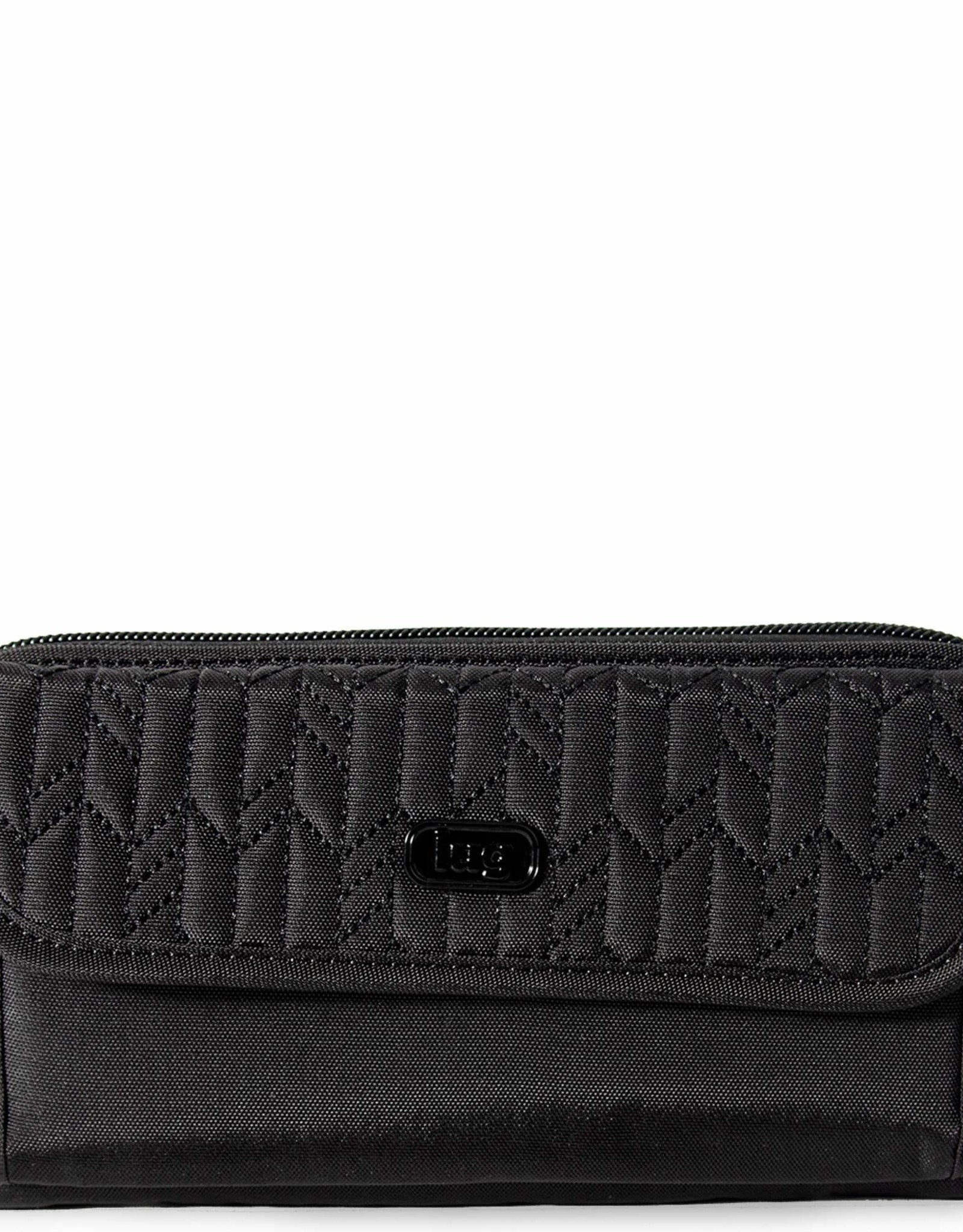 Lug Kick Flip Wallet - Black