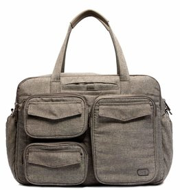 Lug Puddle Jumper Duffle - Heather Walnut