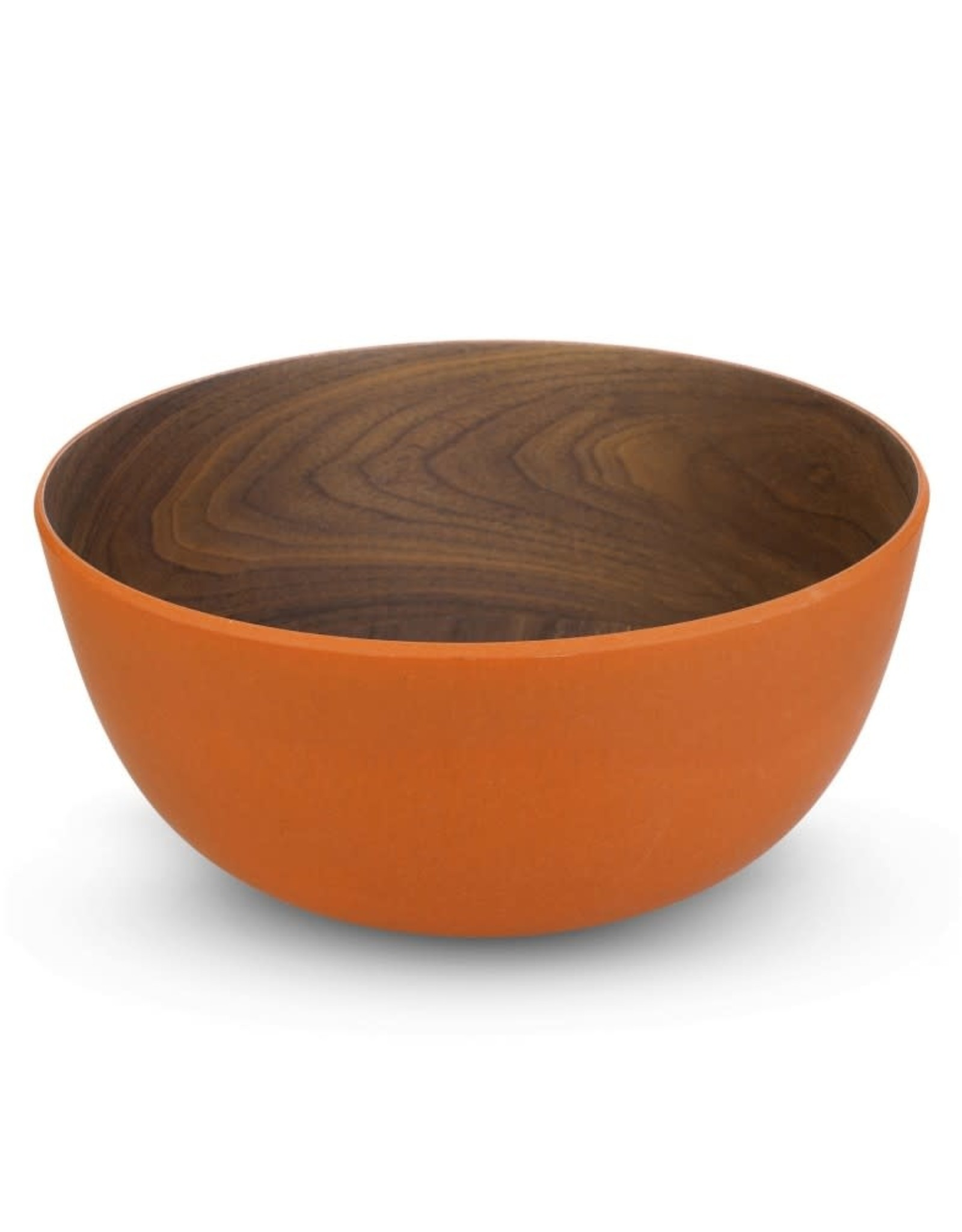 "7"" bamboo serving bowl"