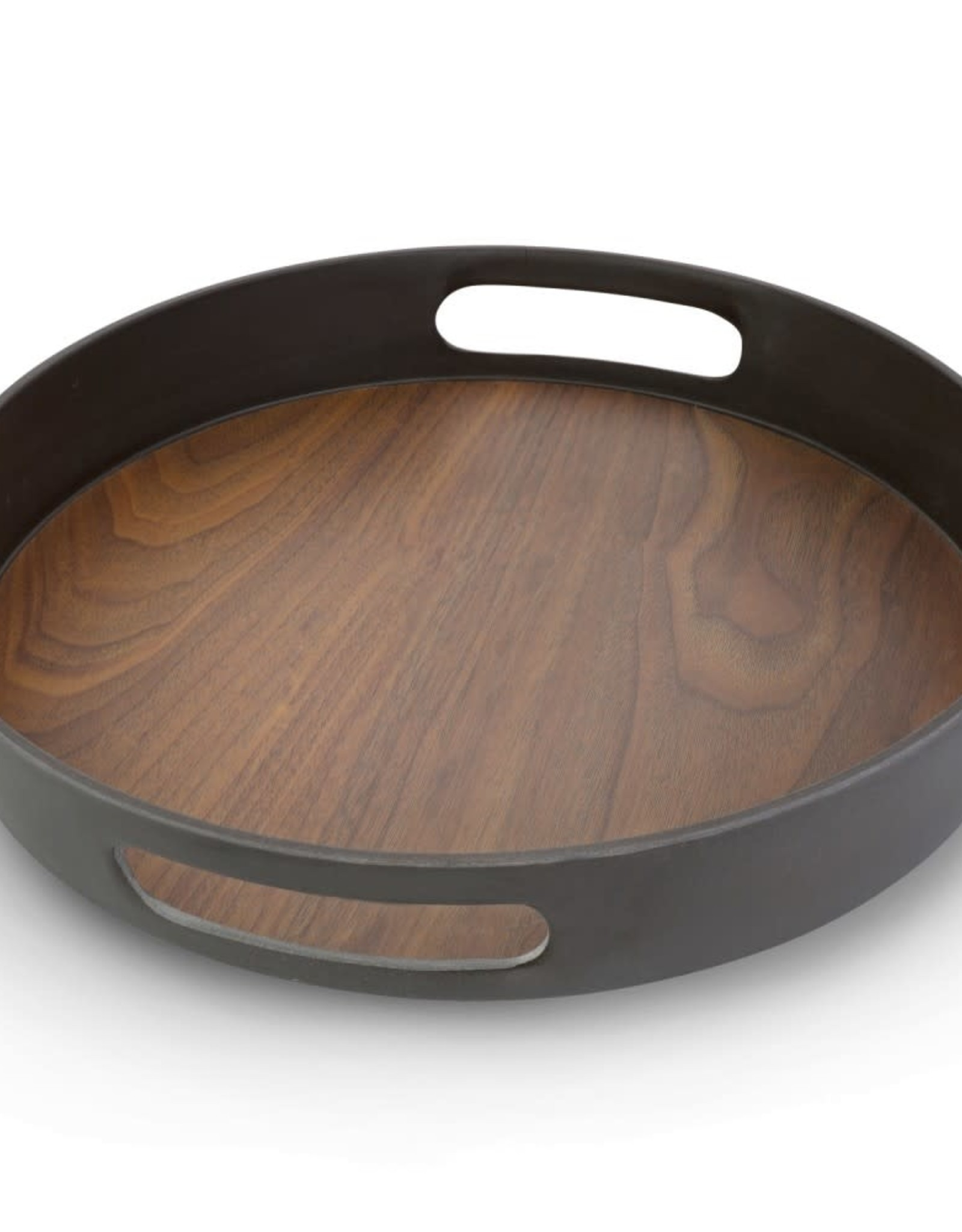 11.75 Inch (30 Cm) Bamboo Round Tray
