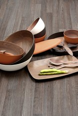 Bamboo Walnut Salad Servers
