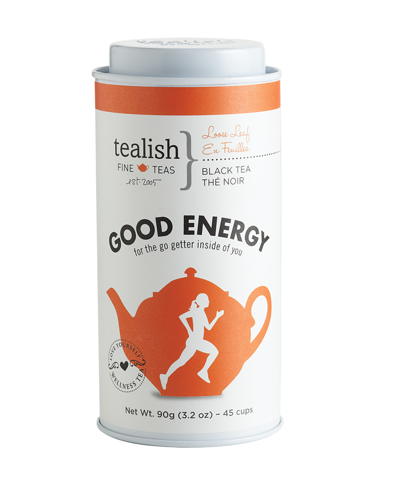 Tealish Good Energy - Black Tea