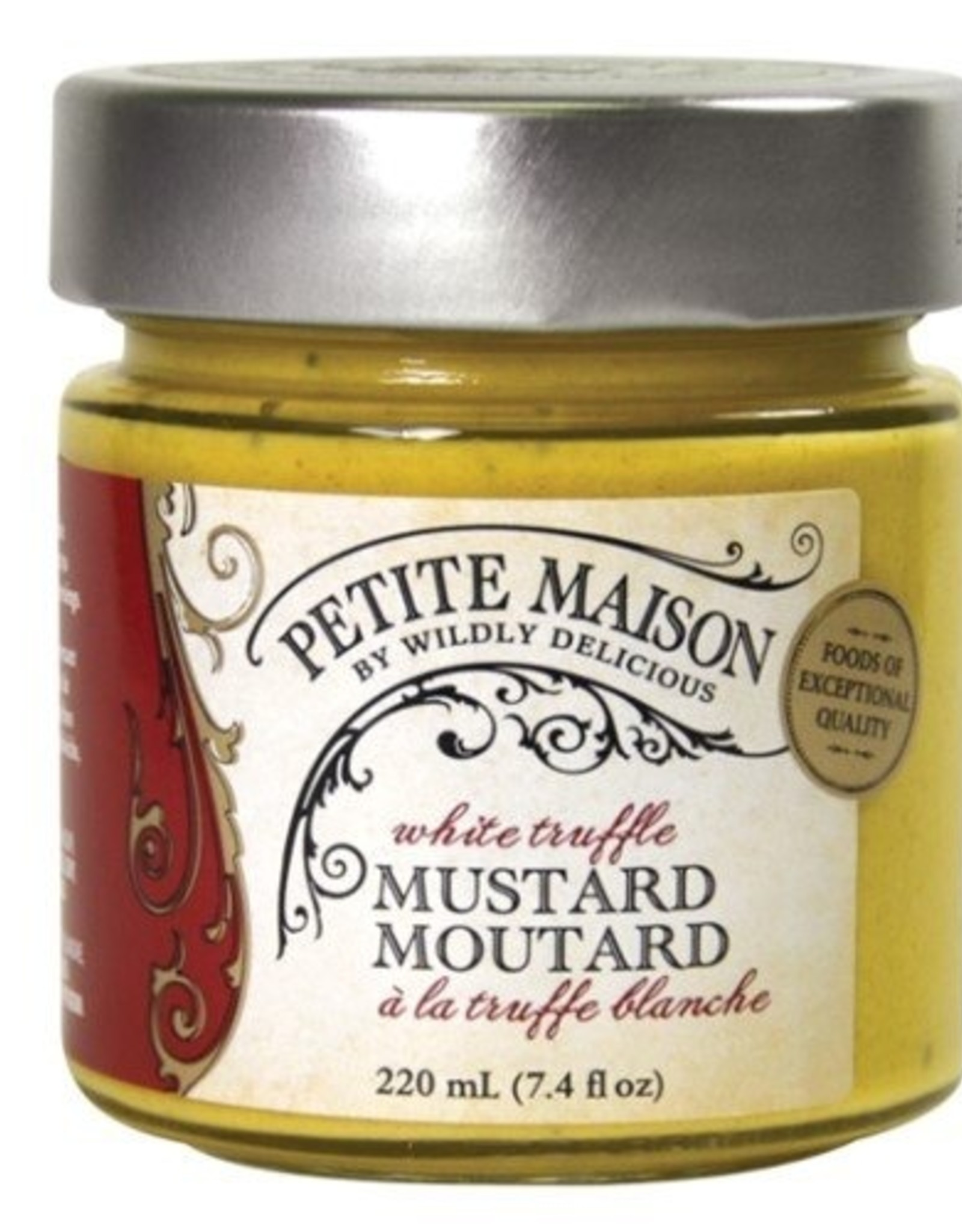 Wildly Delicious White Truffle Mustard