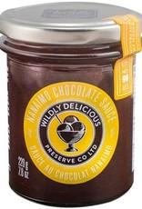 Wildly Delicious Nanaimo Chocolate Sauce