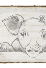 Pig Canvas