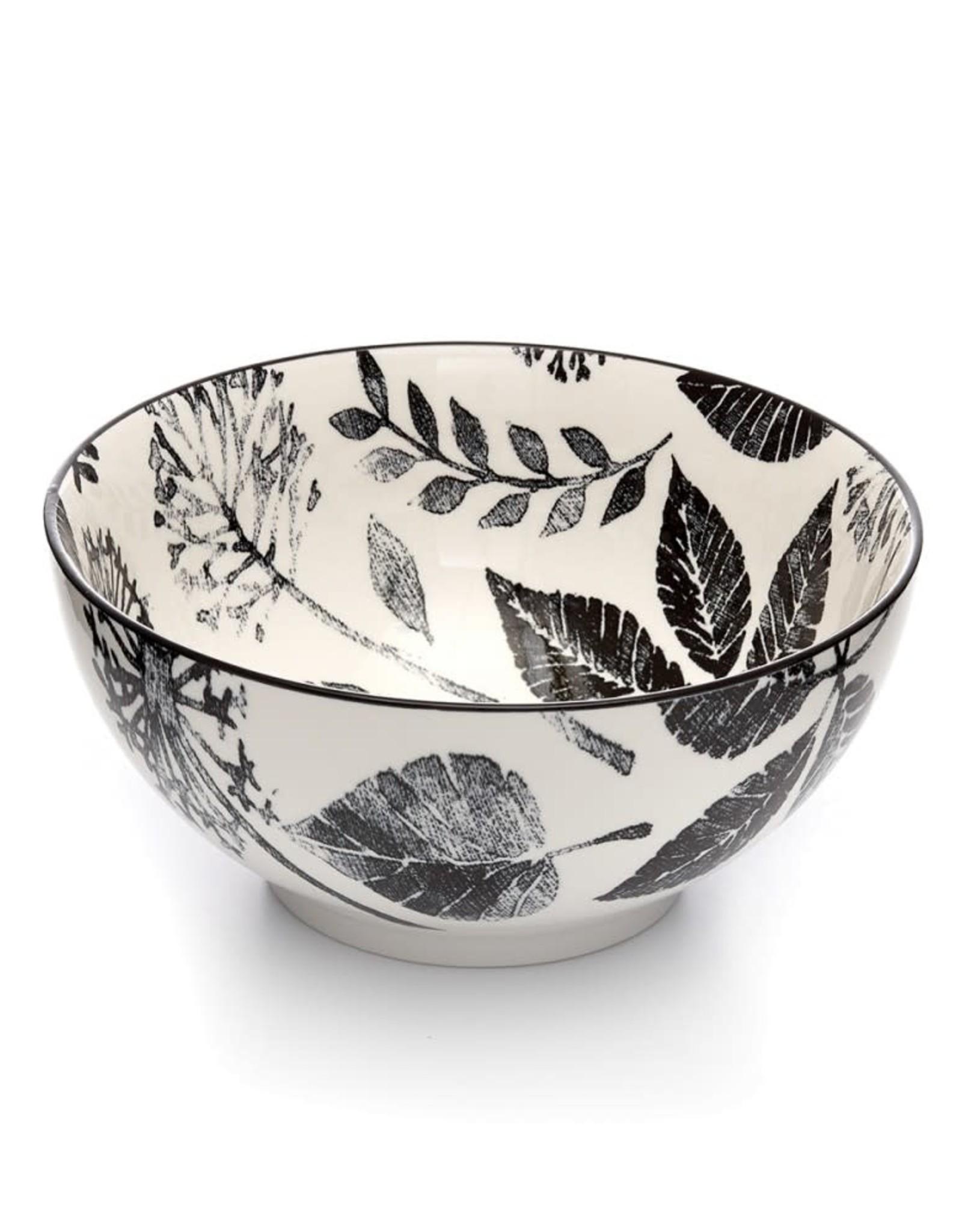 Kiku Leaves Bowl 20 cm