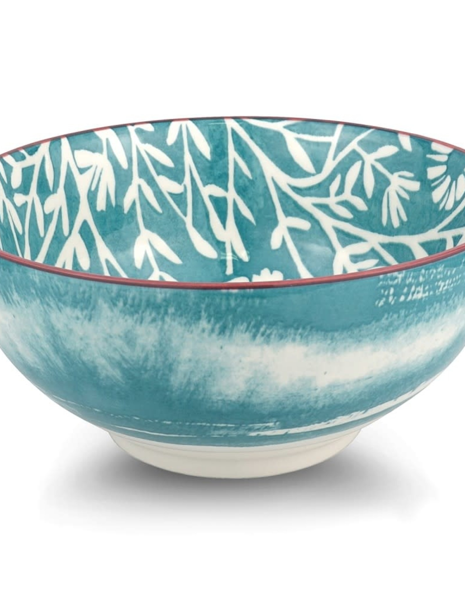 Branches Teal Bowl 17 cm