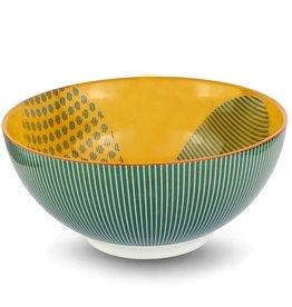 Jasper Mustard Bowl 17 cm