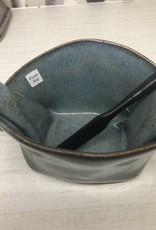 Hilborn Pottery Pinch Pot Pottery Blue Medley