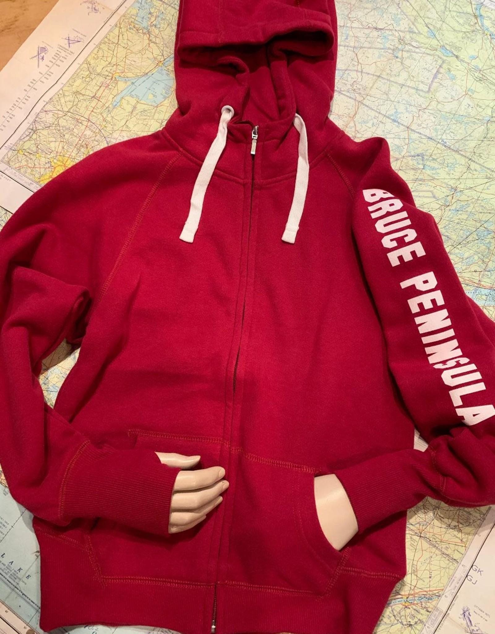 Ladies Bruce Peninsula Full Zip Hoody