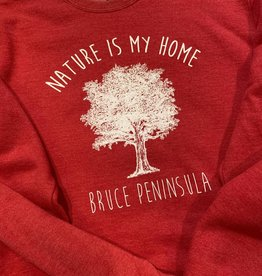 Unisex Nature is My Home Crew Neck Sweatshirt