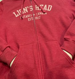 Unisex Lion's Head Full Zip Hoody