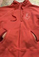 Ladies Full Zip Mock Neck Sweater
