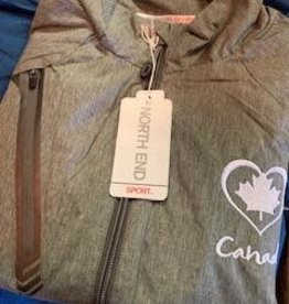 "Ladies All Weather Nylon Jacket ""Canada"""