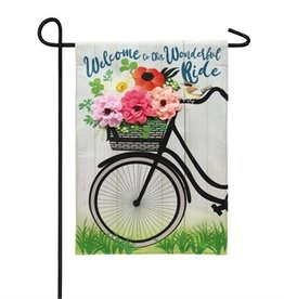Wonderful Ride Garden Flag
