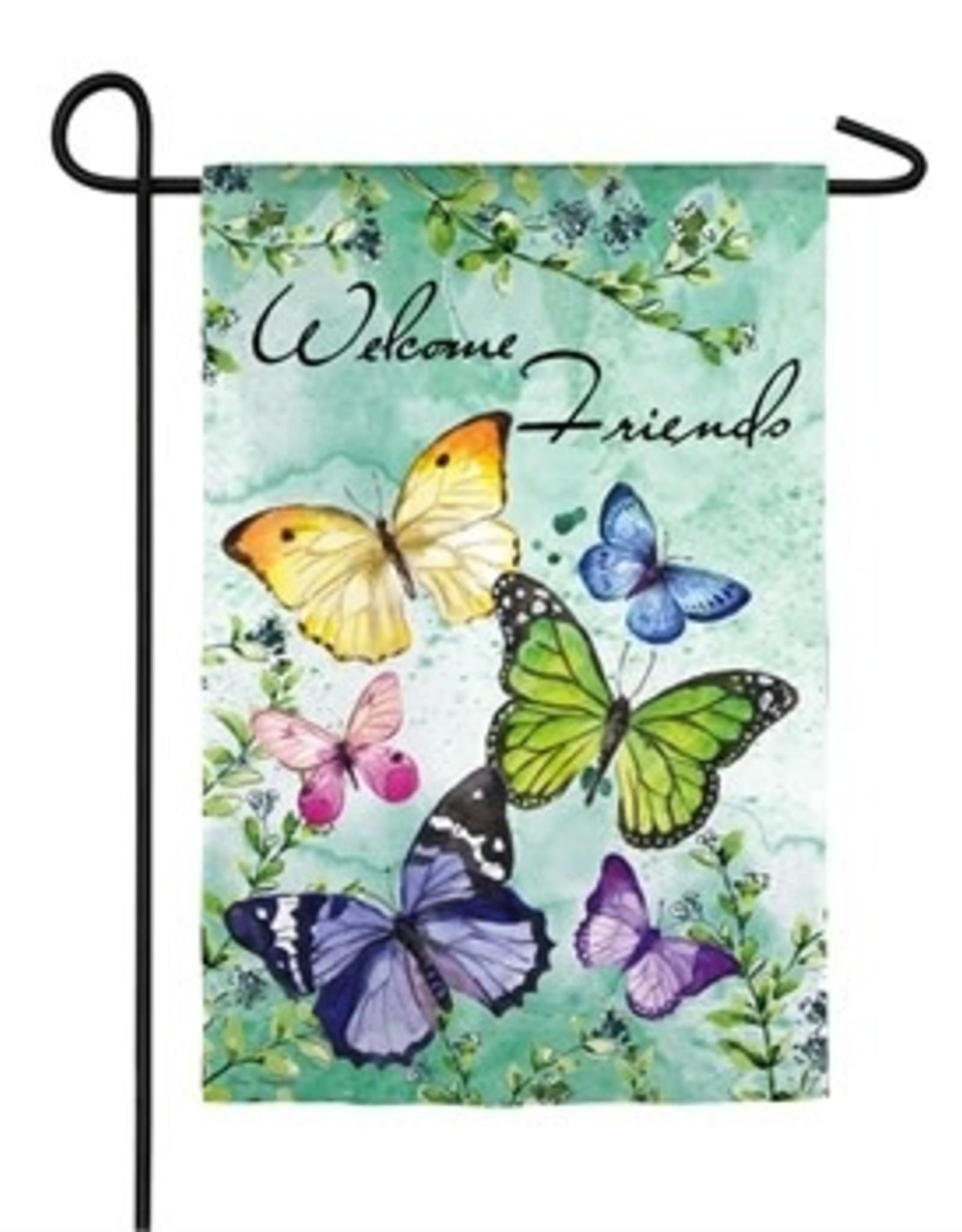 Butterfly Friends Garden Flag