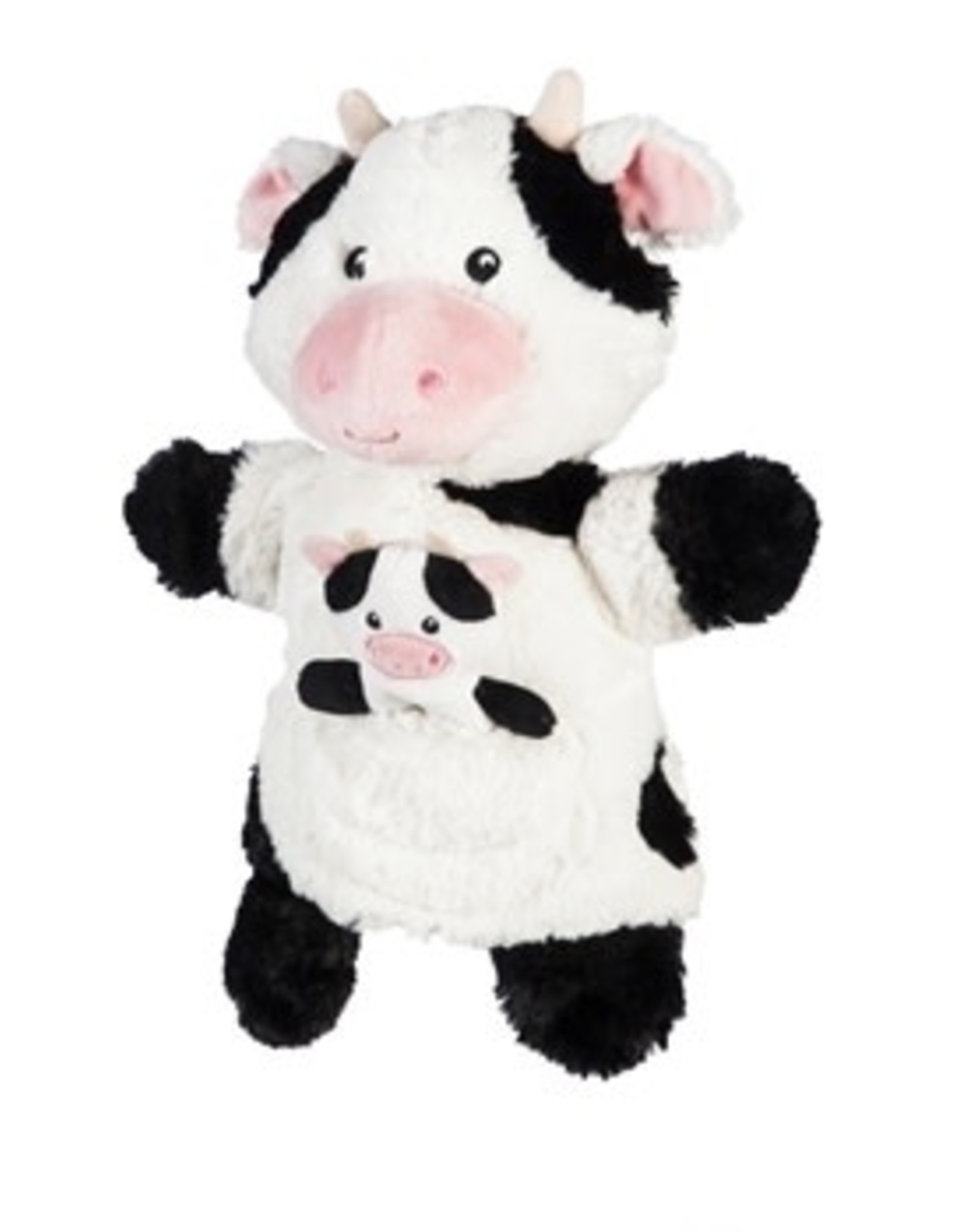 Hand and Finger Puppet (Cow)