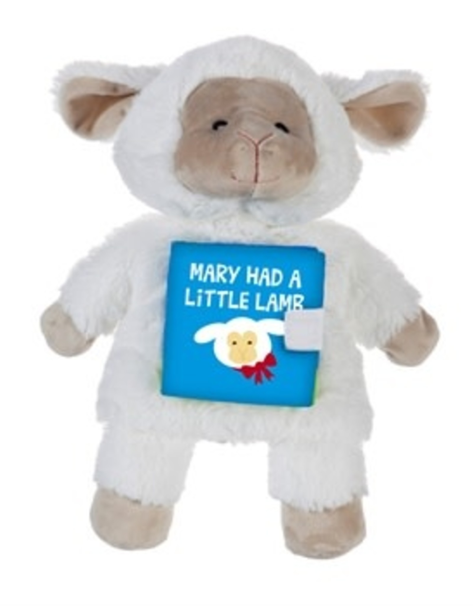 Mary Had a Little Lamb Storybook Hand Puppet, White