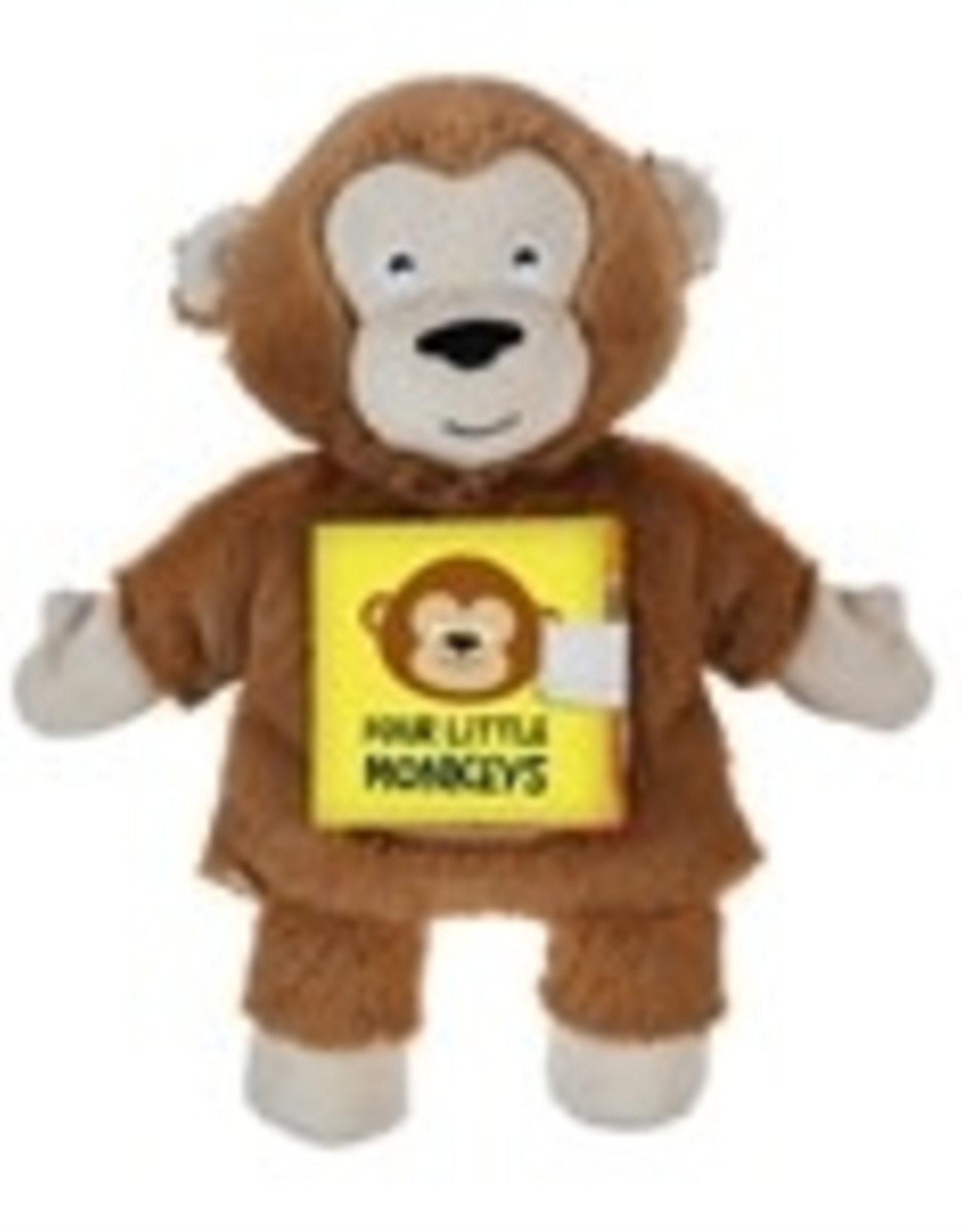 No More Monkeys Storybook and Hand Puppet