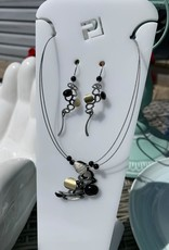 Christophe Poly Earring and Necklace Set
