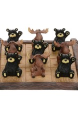 Bear & Moose Tic Tac Toe