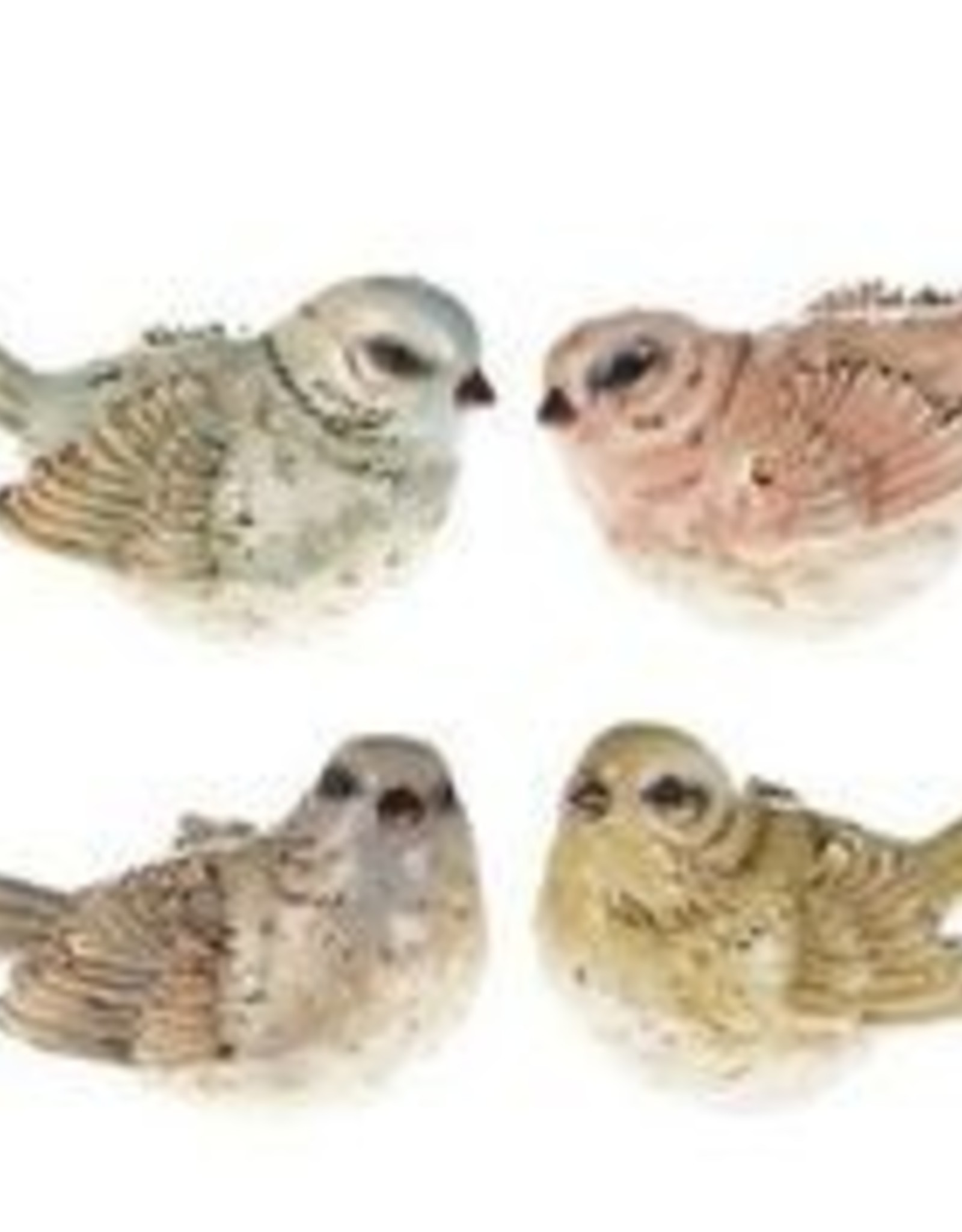 "7"" x 3"" Pastel Birds"