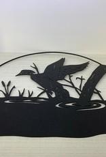Murals In Metal Loon Metal Art