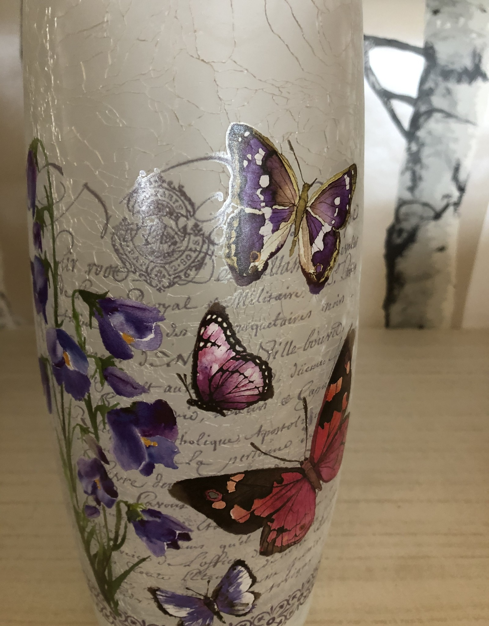 Candle Holder Butterfly