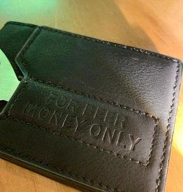 For Beer Money Only Wallet - Black