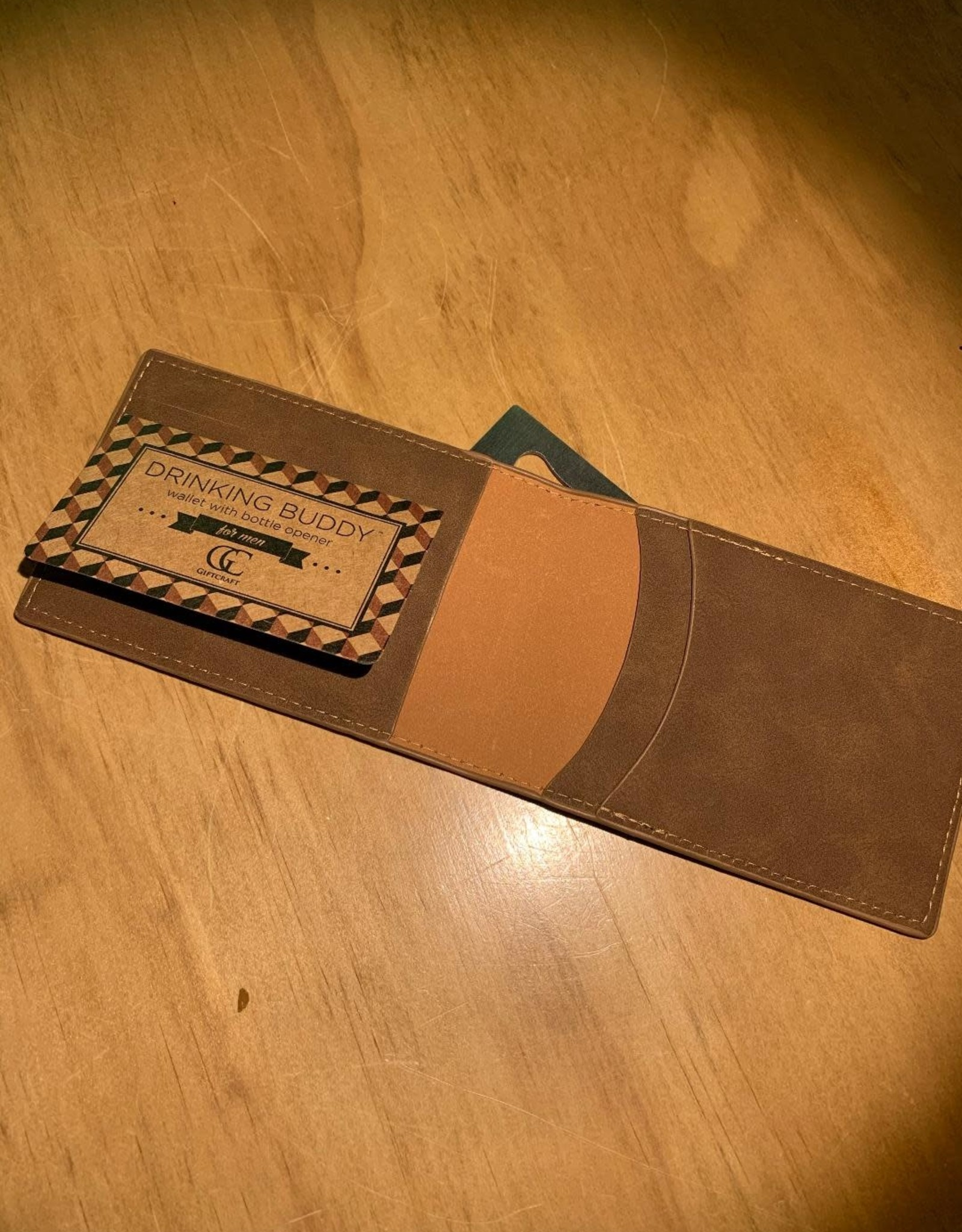 Everyone Needs Something...Wallet - Light Brown