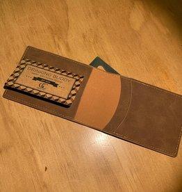 Everyone Needs Something...Wallet - Light Brown