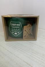 "Green ""Camping Adventure"" Mug"
