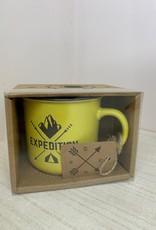 """Yellow """" Expedition"""" Mug"""