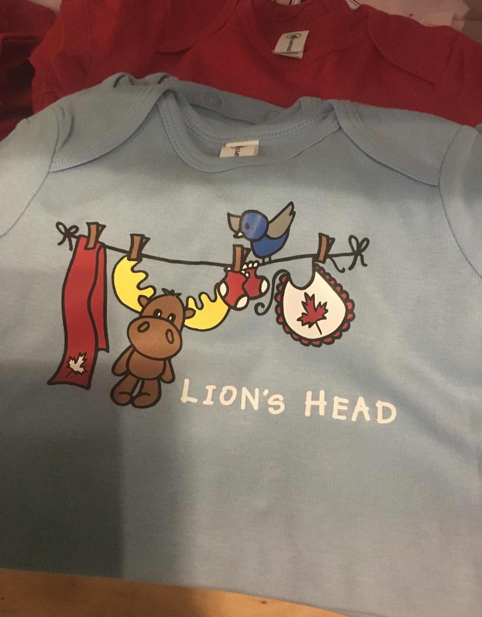 Delta Lion's Head Onesies