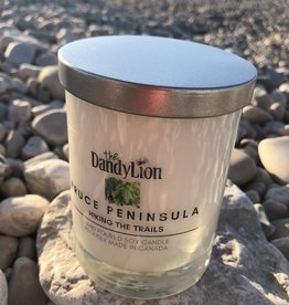 serendipity Bruce Peninsula 12 oz candle Hiking the Trails
