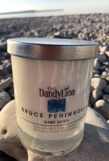 serendipity Bruce Peninsula 12 oz soy candle Dark Skies