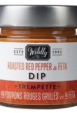 Wildly Delicious Roasted Red Pepper and Feta Dip