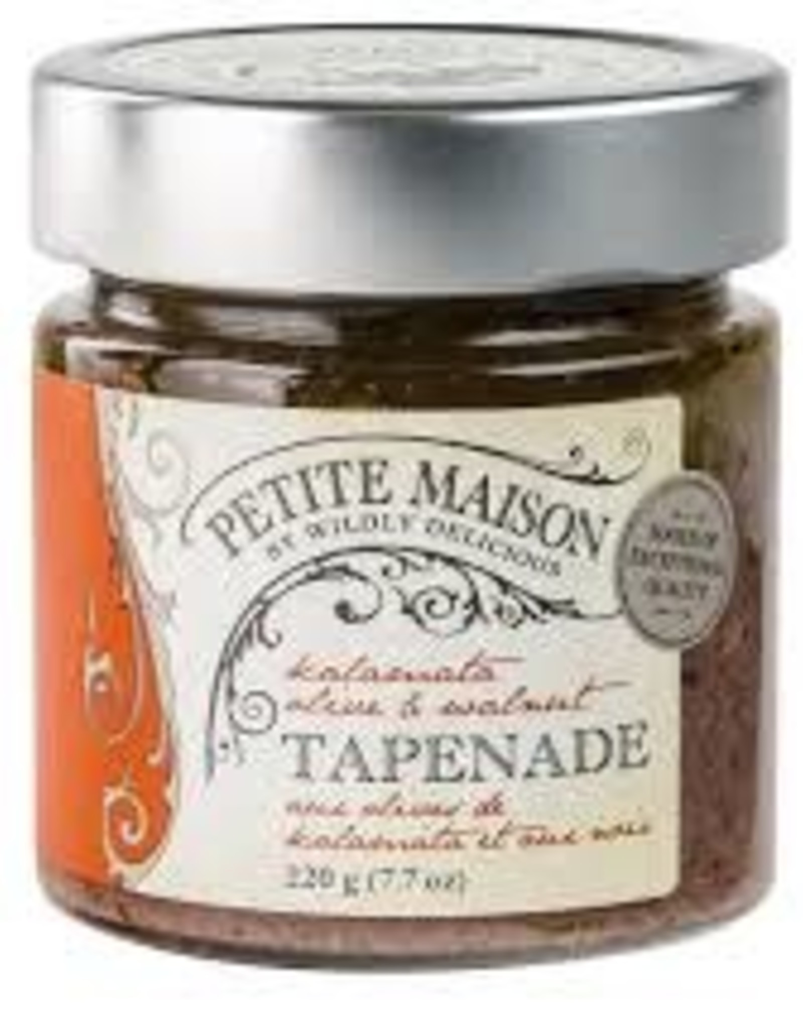 Wildly Delicious Black Olive & Walnut Tapendade