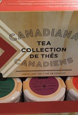 Tealish Canadiana Tea Collection , set of 3 tea samples