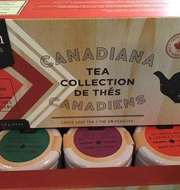 Tealish Canadiana Tea Collection , set of 3 tea samples