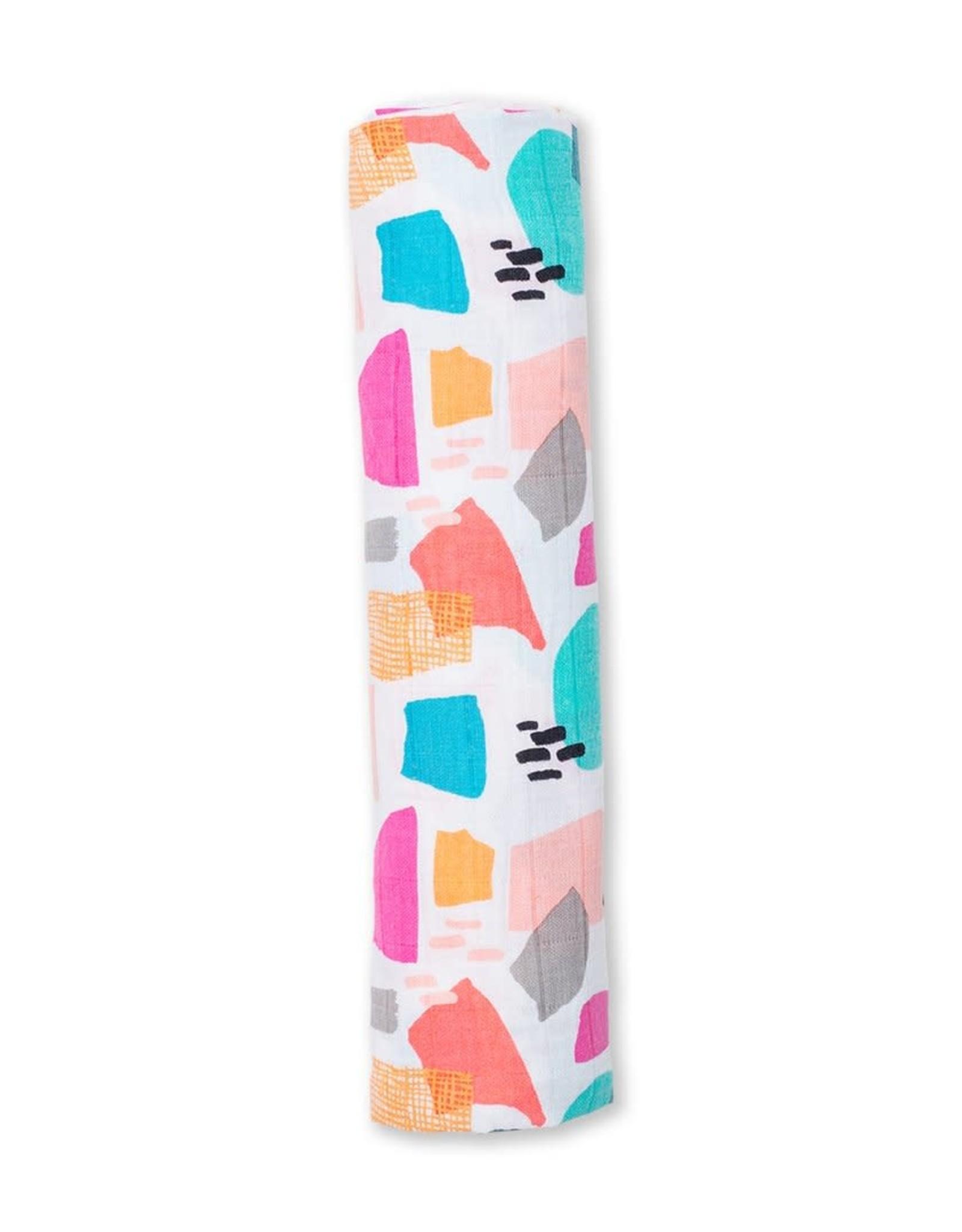 Cotton Muslin Blanket Paper Cut Design